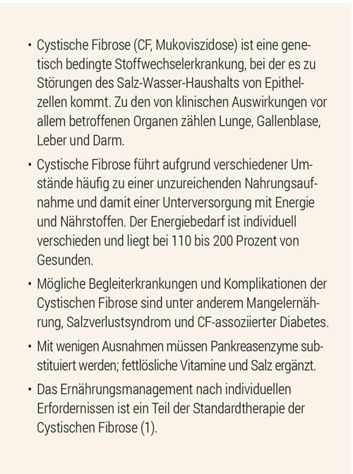 Infokasten Cystische Fibrose